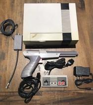 Original NES Console New 72 Pin Connector 1 Controller Zapper Gun & Cables - $83.76