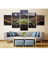 Iowa Hawkeyes Stadium Wall Art Painting Oil On Canvas Poster Print Decor - $29.70+
