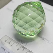 1 pieces Swarovski Crystal  8558 40mm DROP BALL PENDANT CRYSTAL - Peridot - $25.94