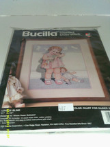 "Bucilla Counted Cross Stitch Kit Number 40672 Love Is Blind Baby Dolls 11"" X 14"" - $8.71"