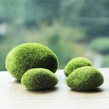 Simulation Moss Stone Garden Diy Micro Landscape Decorations - $10.88