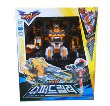 Tobot V Super Driller Transforming Trasformation Action Figure Toy Robot image 4