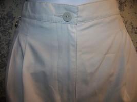 LIZ CLAIBORNE LIZGOLF shorts women petite 10P light beige bone pleated f... - $18.05