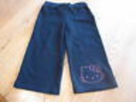 Girls Hello Kitty black pants Capri 4 HK Spring Active HK55301 NWT youth ^^ - $12.85