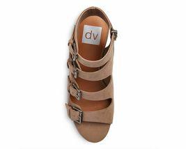 New Dolce Vita Womens light Taupe LeeAnn Buckle Wedge Gladiator Sandal image 3