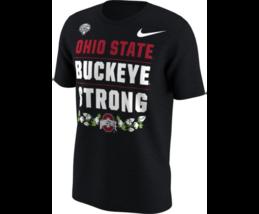 Ohio State Buckeyes Mens Nike 'Buckeye Strong' Cotton Bowl T-Shirt- XL &... - $14.93