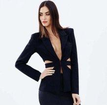 New High Quality Brand Designer Style Wear To work Blazer Jacket Pant Suit Set