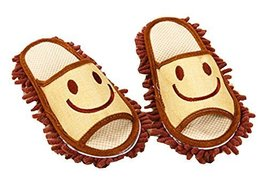 Cartoon Washable Cleaning Slippers Fuzzy Slippers Feet Length 24.5 CM -05 - $17.51