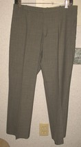 Womens 10 Gray Gap Cropped Stretch Business Casual Dress Pants - $10.89