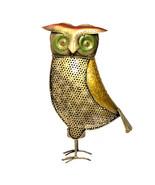 Owl Shape Table Top Iron Candle Tea Light Antique Vintage Home Decor Acc... - $48.95