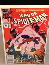 Web Of Spider-Man  # 84 comic 1991  VERY FINE +  ~ THE NAME OF THE ROSE ... - $4.47