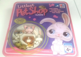Littlest Pet Shop Board Game with 5 Bobblin' Head Pets - New / Sealed - $34.63