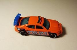 Hot Wheels Dodge Charger Drift Police Orange Chrysler Car Mattel 2009 - $5.99