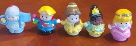Fisher Price Little People Prince Princess Lot - $19.79