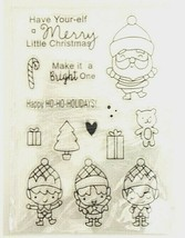 """Stamp Set """"Have Your-elf a Merry Little Christmas"""" - Cardmaking Scrapbooking"""