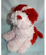 "Animal Alley Pink Red Plush DOG 9"" Valentines Day Soft Bow Stuffed Toys ... - $24.16"
