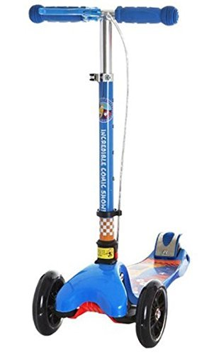 Children Swing Kick Scooter Foldable Kick Board with High Performance Brake Self