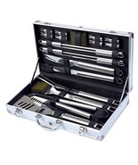 Kacebela BBQ Grill Tools Set, 19-Piece Premium Stainless Steel Barbecue ... - $49.98