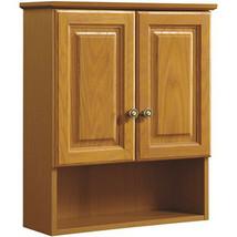 "21W x 26H x 6""D Oak Over The John Vanity Wall Cabinet - $188.80"