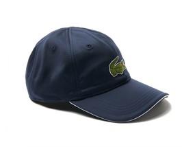 Lacoste Unisex Sport Miami Open Technical Jersey Tennis Cap Navy Size L Bnwt $60 - $49.75