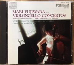 Mari Fujiwara Plays Violoncello Concertos [Audio CD] Joseph Haydn; Luigi... - $11.38