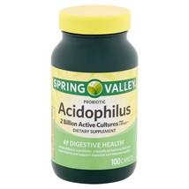 Spring Valley Acidophilus, Digestive Health, 100 Caplets - $24.86