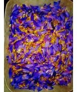 Ceylon Blue Lotus Flower Nymphaea Caerulea Dried Flower Herbal Tea - $7.65