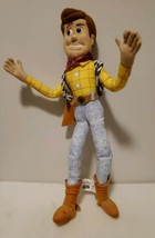 """Thinkway Toys Toy Story Woody Doll 16"""" No Hat And Does Not Talk - $18.66"""