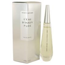 Issey Miyake L'eau D'issey Pure 3.0 Oz Eau De Parfum Spray  image 2