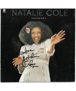 Natalie Cole signed 1975 Inseparable Capitol Album Cover/LP/Vinyl Record... - $98.95