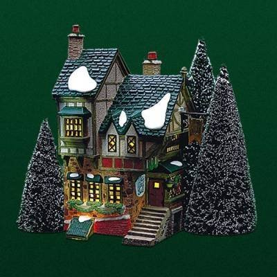 "Primary image for Department 56 ""The Pied Bull Inn"" Retired Dickens Village"