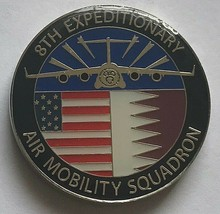 USAF Air Force 8th Expeditionary Air Mobility Squadron MIGHTY 8th Coin - $39.59