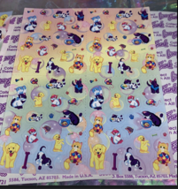 PICK 1*Lisa Frank Full Sticker Sheet Minis Kitten Dog Fruit Panda Peekaboo Koala image 7