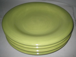 Tabletops Unlimited Espana Green/Olive Round Dinner Plate 4-pcs - $29.03