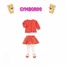 "Gymboree Baby Girls ""Bear-Y New"" Collection 2 Piece Set NWT Size 3-6m - $38.46"