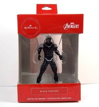 Hallmark Avengers BLACK PANTHER figural Christmas ornament 2019 NEW - $9.82