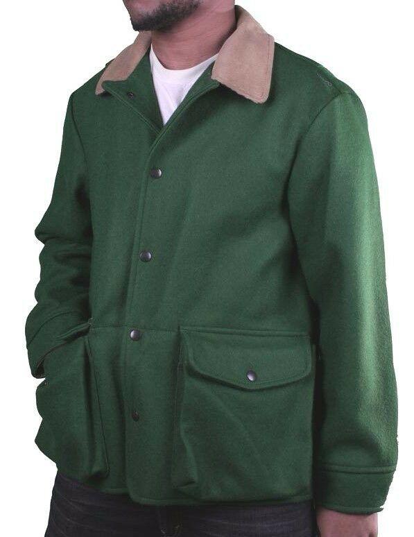 Billionaire Boys Club Ape Linea Verde Scozzese Lana Fox Giaccone Cappotto Nwt