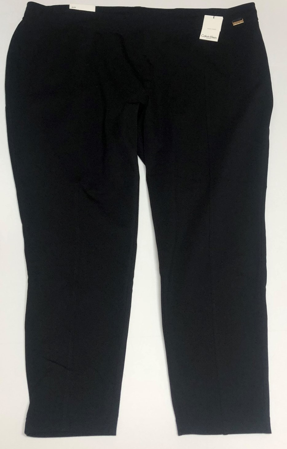 Calvin Klein Power Stretch Black Pants Women Sz 3X image 3