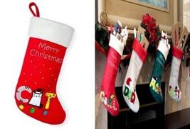 Red Bene Family Christmas Stockings Cat  - $382,80 MXN