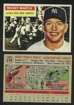 LOT of 25 REPRINT 1956 Topps #135 MICKEY MANTLE Yankees HOF - $9.50