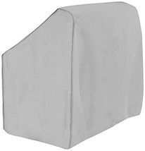 Boat Center Console Cover, 600D Marine Grade Polyester Canvas, Waterproof, Grey