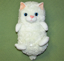 "HIDEAWAY PETS WHITE CAT 15"" STUFFED ANIMAL Plush PERSIAN Kitten Toy Jay ... - $7.92"