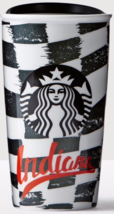 Starbucks 2016 Indiana Local Collection Double Wall Ceramic Tumbler NEW - $61.69