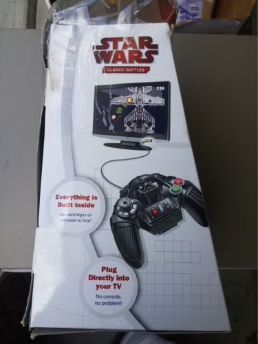 Jakks Pacific New Star Wars Classic Battles Plug and Play TV 5 in 1 Game