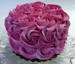 Fake Cake Fucshia Pink Rosette Prop Decoration Faux Cake  - $26.72