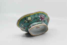 Antique Chinese Export Porcelain Footed Bowl, 8 x 5.5 inches -  - $64.35