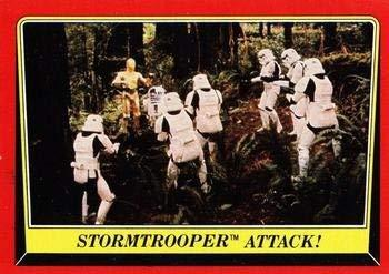 1983 Topps Star Wars Return of the Jedi #113 STORMTROOPER ATTACK Trading Card