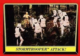 1983 Topps Star Wars Return of the Jedi #113 STORMTROOPER ATTACK Trading... - $2.93