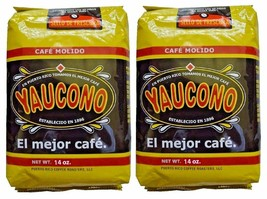 Yaucono Whole Bean Coffee - 14 oz - Pack of Two - $16.67