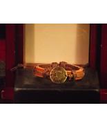 Vintage Style Adjustable Cancer Leather Bracelet - $6.93